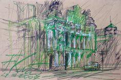 filip kurzewski; pencil on paper; 50x35cm 19,5x10inch