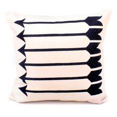 Sharp Shooter Pillow 12x12 Black
