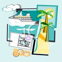 cruise ship clip art photo