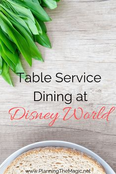 Table service dining at Walt Disney World Best Disney World Restaurants, Disney World Food, Walt Disney World Vacations, Disney Travel, Disney Cruise, Disney Parks, Disney Vacation Planning, Disney World Planning, Vacation Ideas
