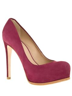 Irina shoes in burgundy suede / Pour La Victoire