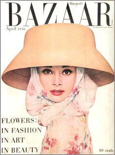 Xana Gomez | design: Vintage Magazine Covers - Harper´s Bazaar