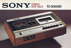 Stereo Tape Deck -  SONY TC-2050SD