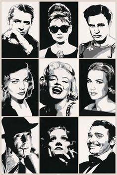 1940's/ 1950's Movie Stars