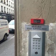 Le Sonneur frappe à la porte du street art | From Paris