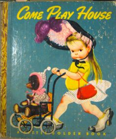 One of my favourite Vintage Little Golden Books from the 1950's that I have in my collection