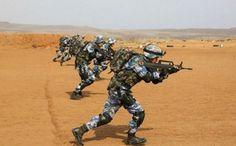 Binh sĩ Trung Quốc tập trận bắn đạn thật tại căn cứ ở Djibouti