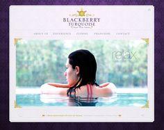 Blackberry Turquoise