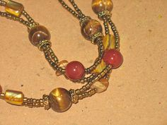 Necklace and Earring Sets : Honey Comb Set