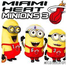 Miami Heat Minions