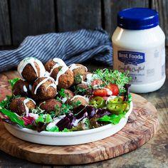 Falafelled Sweet Potato Salad