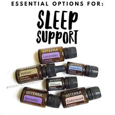 Oils for SLEEP SUPPORT:  1️⃣. Lavender - widely known for it's calming and relaxing properties 2️⃣. Vetiver - calming and grounding effects on emotions 3️⃣. Cedarwood - promotes feelings of relaxation and wellness  4️⃣. Juniper Berry - grounding and calming, great for those who struggle with bad dreams 5️⃣. Sandalwood - promotes tranquility and feelings of peace  6️⃣. Serenity (Calming Blend)- helps lessen feelings of tension and calms emotions --------------------------------------- ⏺Make a…