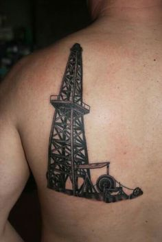 1000 images about oil field tattoos on pinterest oil field oil rig and husband tattoo. Black Bedroom Furniture Sets. Home Design Ideas