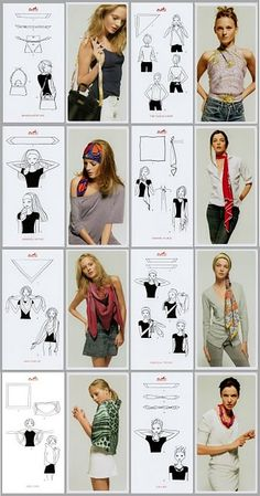 scarves How to accessorize your look Go to slimmingbodyshapers.com for plus size shapewear and bras #slimmingbodyshapers   slimmingbodyshapers.com