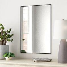 Zipcode Design™ Dendron 8 Drawer Double Dresser & Reviews | Wayfair Modern Contemporary Bathrooms, Modern Bathroom Lighting, Modern Bathroom Design, Single Bathroom Vanity, Master Bathroom, Bathroom Vanity Mirrors, Led Mirror, Hall Bathroom, Wall Mirror