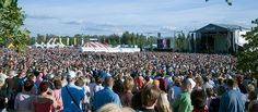 Pori Jazz is a major international event featuring world-class performing artists. Its unique atmosphere, diversified high standard programme, fine services and beautiful surroundings attract about 150,000 visitors to over 100 concerts every year.