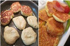 Αφράτες τηγανίτες γιαουρτιού, εύκολα, γρήγορα και μόνο με 4 υλικά! No Cook Desserts, Sweets Recipes, Cooking Recipes, Healthy Recipes, Healthy Food, The Kitchen Food Network, Bread Dough Recipe, Crepes And Waffles, Baby Cupcake