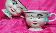 Retro Baileys Irish Cream Boy and Girl Coffee Mugs