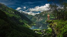 Geiranger viking by Andrew Cawa on 500px