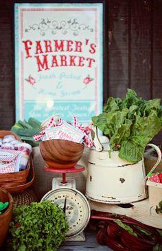 Farmer's Market Party