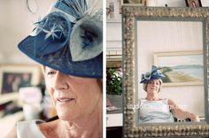 Very stylish lady in frame.  www.studio33weddings.com Bucket Hat, Castle, Stylish, Lady, Frame, Fashion, Picture Frame, Moda, Bob