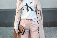 pink, pale dogwood, pink look, ck, calvin klein, style, street style, street fashion, ootd, look, style, inspiration, bloger, fashionist, stylist,