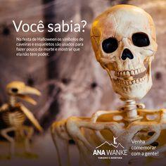 Venha fazer festa com a gente! Halloween na Ana Wanke Turismo e Aventura está se tornando tradição de muita diversão. Informações e reservas aqui: