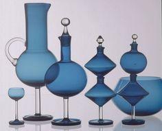 Nanny Still, Harlekiini (Harlequin) Glass Ceramic, Ceramic Art, Liquor Glasses, Art Of Glass, Foyer Design, Nordic Design, Hand Blown Glass, Murano Glass, Glass Bottles