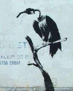 Oh #Banksy...nail on the head with that one #graffiti #streetart