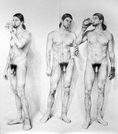 Zachari Logan, artist & model