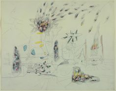 Cosmic – Roberto Matta -  Welcome to the online home of The Guernsey College Art and Design Department ////////