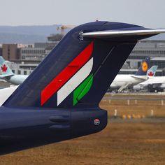 MALEV Hungarian Airlines Fokker F-70 HA-LMB
