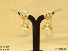 LAXMI COIN TEMPLE JHUMKI TRADITIONAL tEMPLE eARRINGS