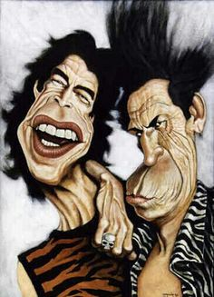 Two rolling stones