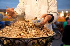 Tasting Marrakech Food Tour in Djemaa El Fna Square, Evening sunset explorer tour.