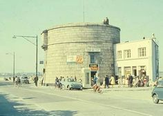 Sandymount, Martello Tower in Dublin, 1966. Ireland Pictures, Images Of Ireland, Dublin Street, Dublin City, Great Britain United Kingdom, Croke Park, Photo Engraving, Ireland Homes, Dublin Ireland