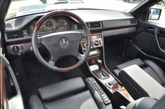 Mercedes w124 E500 with Recaro Classic C seats
