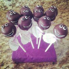 Barney Pops Barney Birthday Party, Barney Party, First Birthday Parties, 2nd Birthday, First Birthdays, Birthday Ideas, Barney & Friends, Dinosaur Party, Creative Food
