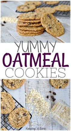 The Best Eggless Oatmeal Cookies These are best EGGLESS oatmeal cookies EVER! Perfect for lunch boxes, snacks, and desserts. They won't last long so make sure to make a double batch. Eggless Desserts, Eggless Recipes, Eggless Baking, Easy Desserts, Baking Recipes, Delicious Desserts, Dessert Recipes, Fudge Recipes, Recipes Dinner