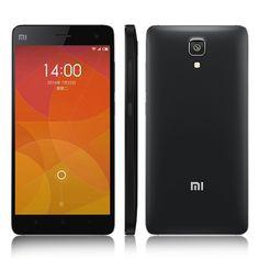 """Xiaomi Mi4 5"""" Originale Quad Core 2.5 Ghz 3GB RAM UNLOCKED Android KITKAT.  13 MP Front 8 Mp Back 16 GB Rom  Noir Xiaomi n'a pas fait les choses à moitié. Pour être bref, le constructeur chinois a opté pour du matériel haut de gamme et a fait des choix censés pour son mobile. On y trouve donc un écran IPS LCD de 5 pouces et une résolution Full HD, un processeur Snapdragon 801 (MSM8975AC) cadencé à 2,5 GHz, 3 Go de mémoire RAM, une batterie de 3080 mAh, et un appareil photo dorsal de 13…"""