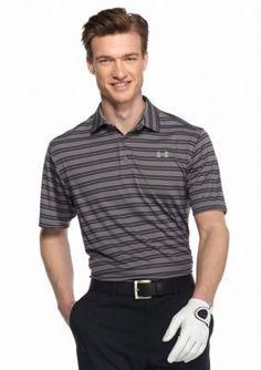 Under Armour Laser GreenGraphiteSteel Tech Stripe Short Sleeve Shirt