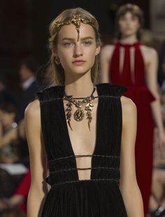 Maartje Verhoef at Valentino FW15 Haute Couture