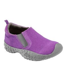 Take a look at this Purple Heart Suede Rintin Slip-On Shoe - Toddler & Kids by KEEN on #zulily today!