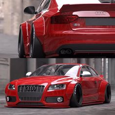 Liberty Walk A5/S5 kits are now available for pre order at Vivid Racing! Call us…