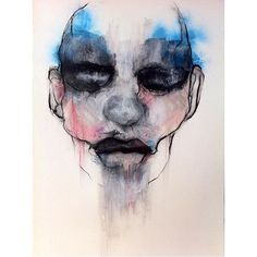Follow the artist: @svandermerwe  #artbotic #artist #art #