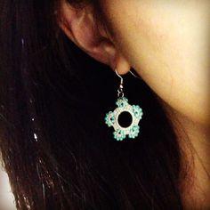 Yuki's mother desined earring.