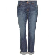 J Brand 1214 Aidan Boyfriend Jeans ($340) ❤ liked on Polyvore