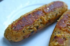 vegan sausages...much cheaper than buying the field roast or tofurky sausages