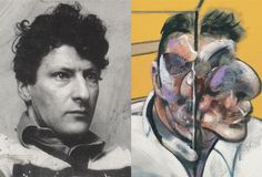 """Deleuze on Francis Bacon's """"Three Studies of Lucian Freud"""" (1969)"""