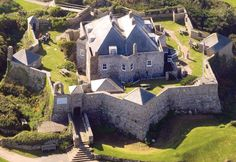 The Star Castle was built in 1593 for Queen Elizabeth I in the Isles of Scilly, an archipelago off Cornwall, England. It is now home to a hotel